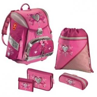 8af7f79a88 Školská taška Pink Romance 8-dielný set empty
